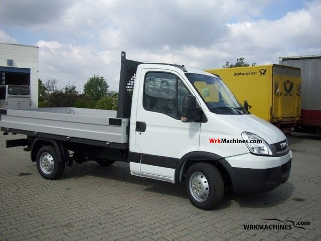2011 IVECO Daily III 35C15 /P Van or truck up to 7.5t Stake body photo