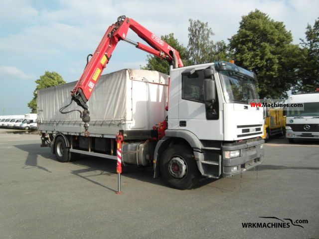 2002 IVECO EuroTech MH MH 190 E 24 K Truck over 7.5t Stake body and tarpaulin photo