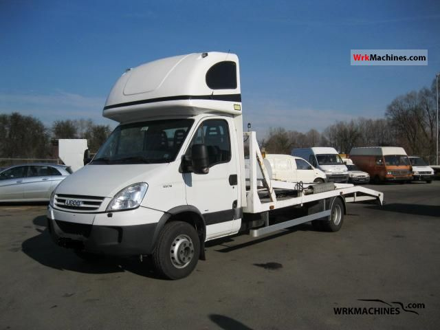 2008 IVECO Daily III 65C18 Van or truck up to 7.5t Car carrier photo
