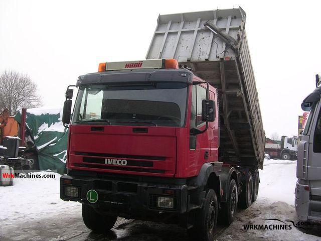 2002 IVECO EuroTrakker 410 E 44 Truck over 7.5t Tipper photo
