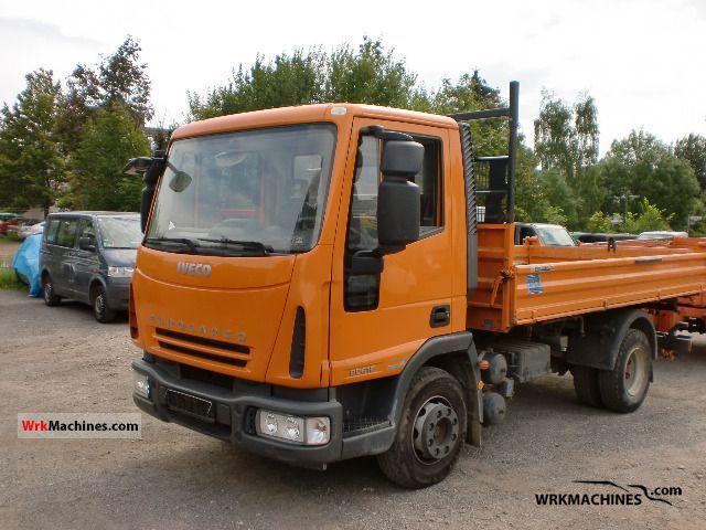 2007 IVECO EuroCargo 80 E 18 K Truck over 7.5t Tipper photo