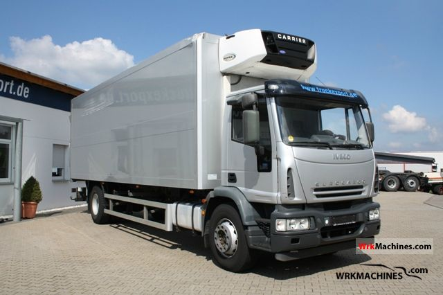 2006 IVECO EuroCargo 180 E 24 Truck over 7.5t Refrigerator body photo
