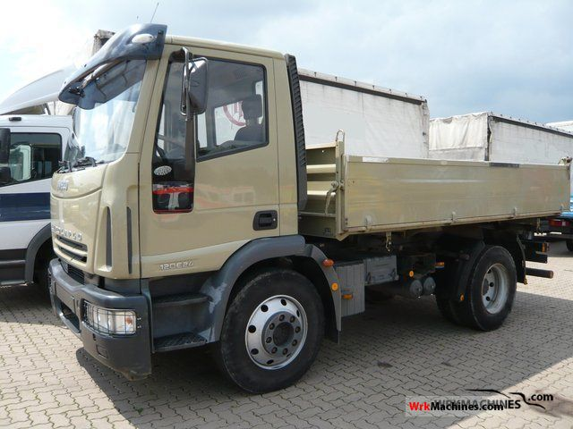 2006 IVECO EuroCargo 120 E 24 Truck over 7.5t Tipper photo
