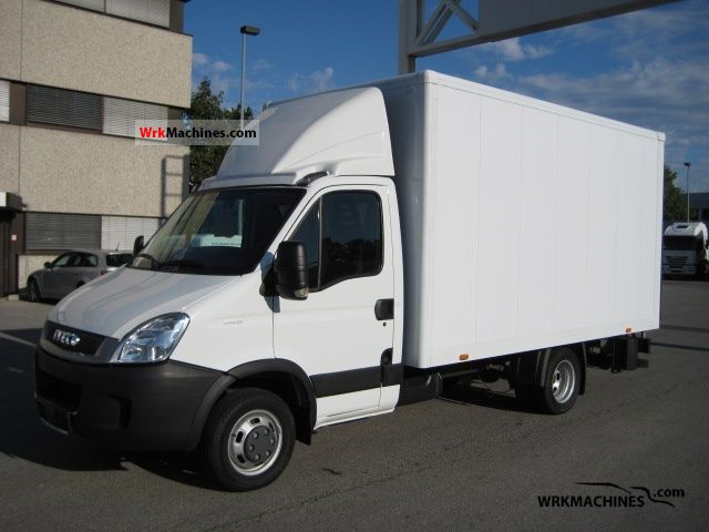 2010 IVECO Daily II 35 C 15 Van or truck up to 7.5t Box photo