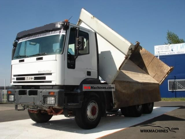2001 IVECO EuroTrakker 260 E35 Truck over 7.5t Tipper photo