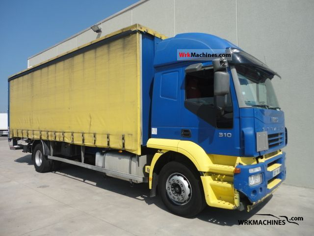 2006 IVECO Stralis AT 190S31 Truck over 7.5t Stake body and tarpaulin photo