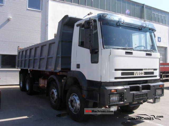 1999 IVECO EuroTrakker 410 E 37 Truck over 7.5t Tipper photo