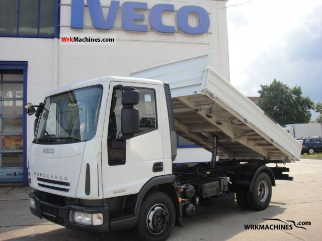 2008 IVECO EuroCargo 80 E 18 K Truck over 7.5t Tipper photo