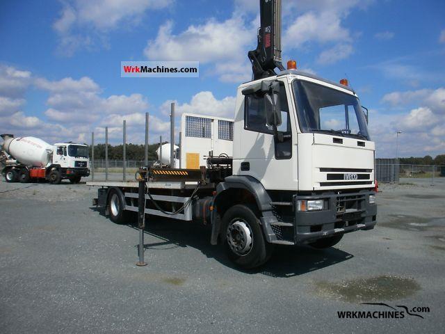 2003 IVECO EuroCargo 180 E 24 Truck over 7.5t Truck-mounted crane photo