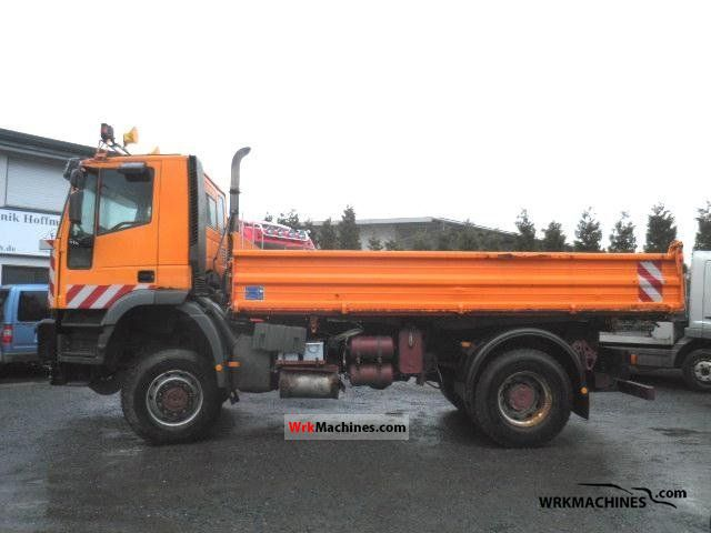2001 IVECO EuroTech MH 190 E 31 Truck over 7.5t Tipper photo