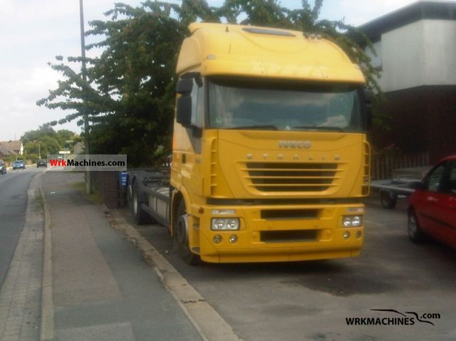 2006 IVECO Stralis 260S45 Truck over 7.5t Swap chassis photo