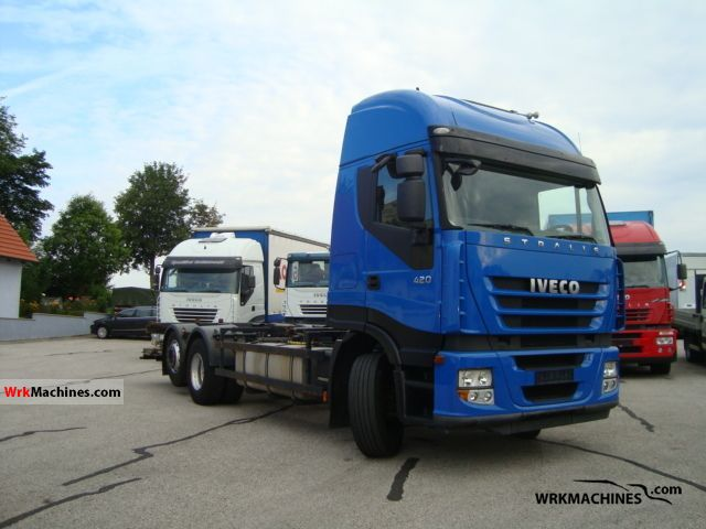 2007 IVECO Stralis 260S42 Truck over 7.5t Swap chassis photo