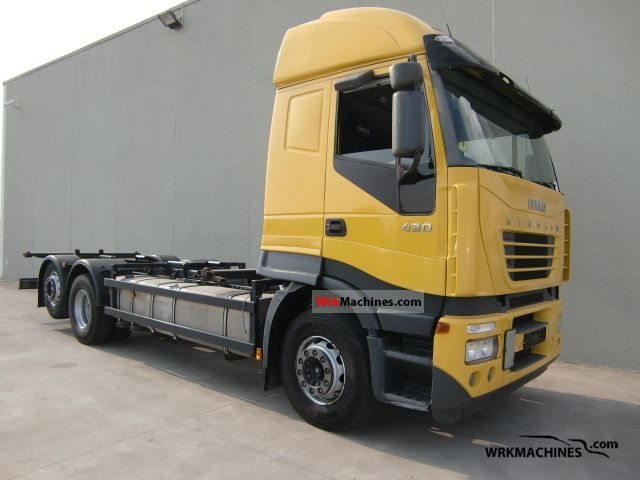 2007 IVECO Stralis AS 260S43 Truck over 7.5t Swap chassis photo