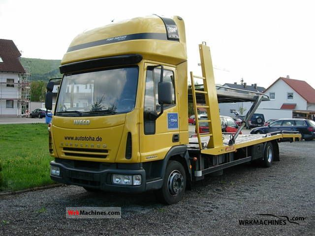 2006 IVECO EuroCargo 120 EL 21 Truck over 7.5t Car carrier photo