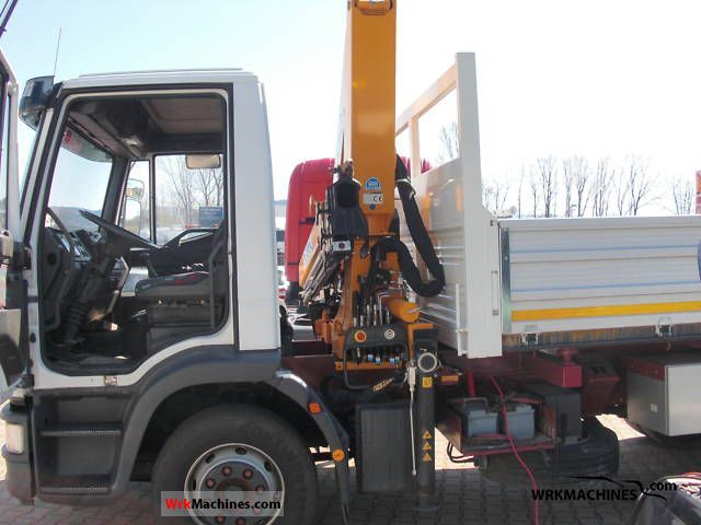 1999 IVECO EuroCargo 120 E 18 Truck over 7.5t Three-sided Tipper photo