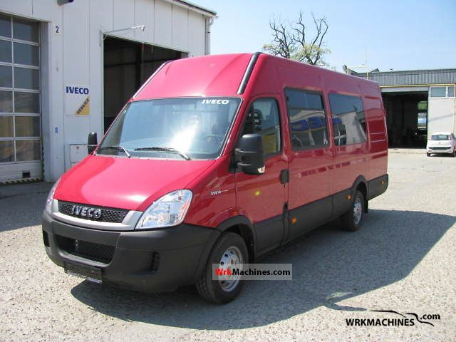2011 IVECO Daily III 35S18 Van or truck up to 7.5t Estate - minibus up to 9 seats photo