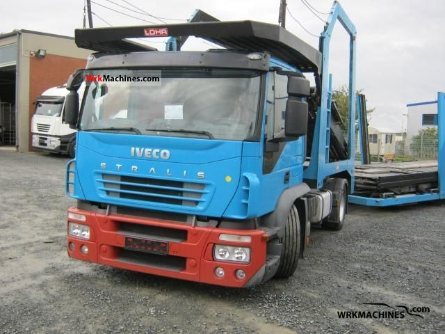 2007 IVECO Stralis 440S42 Truck over 7.5t Car carrier photo