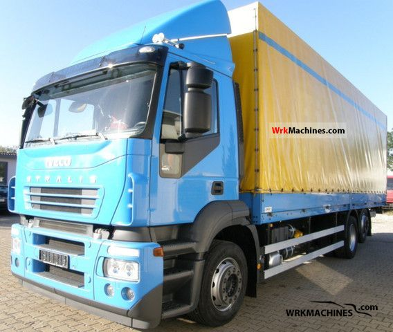 2006 IVECO Stralis AD 260S33 Truck over 7.5t Stake body and tarpaulin photo