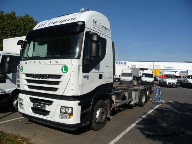 2008 IVECO Stralis 260S45 Truck over 7.5t Swap chassis photo