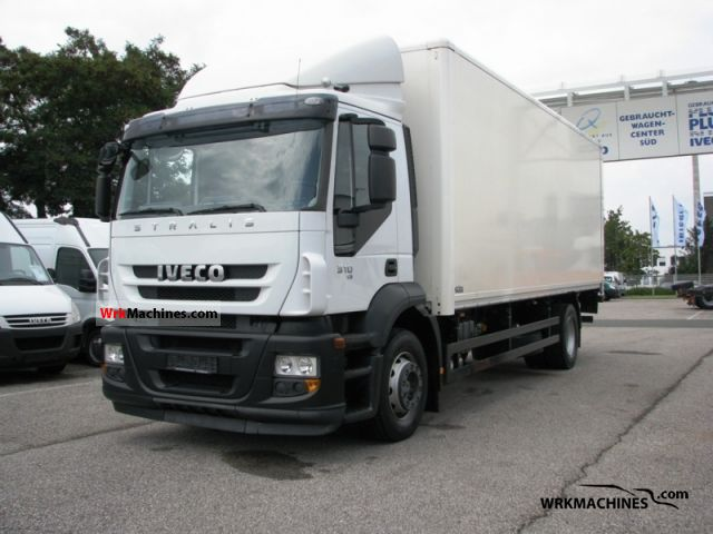 2008 IVECO Stralis 190S31 Truck over 7.5t Box photo