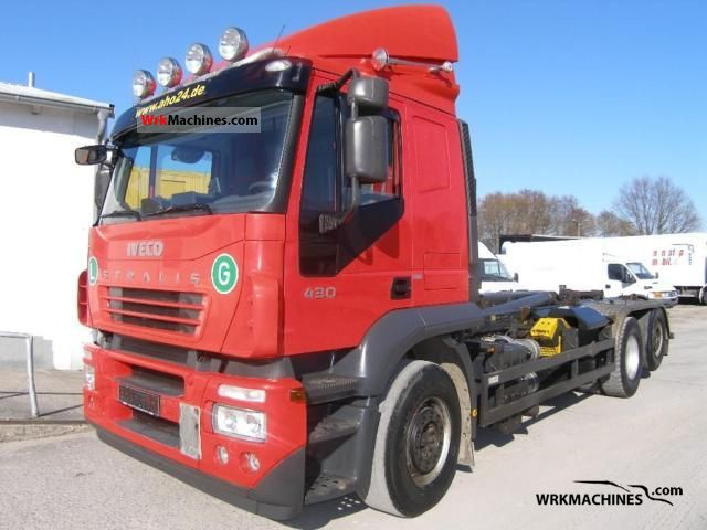 2006 IVECO Stralis 260S43 Truck over 7.5t Roll-off tipper photo