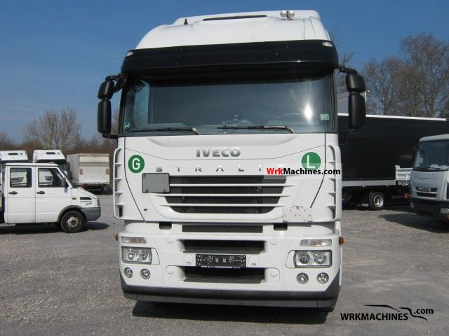 2008 IVECO Stralis 260S42 Truck over 7.5t Swap chassis photo