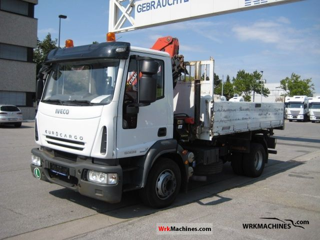 2007 IVECO EuroCargo 150 E 28 Truck over 7.5t Three-sided Tipper photo