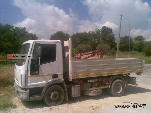 2005 IVECO EuroCargo 90 E 17 Truck over 7.5t Tipper photo