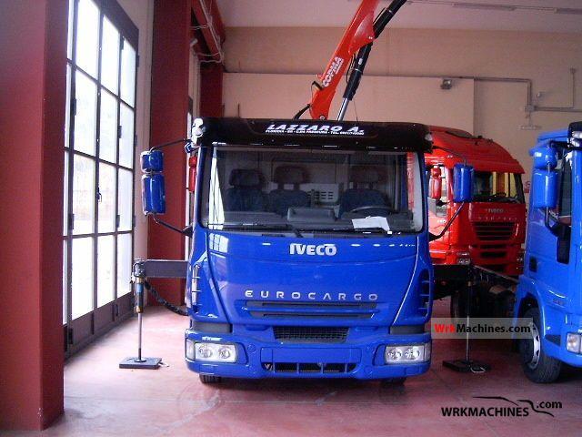 2005 IVECO EuroCargo 75 E 15 Truck over 7.5t Tipper photo