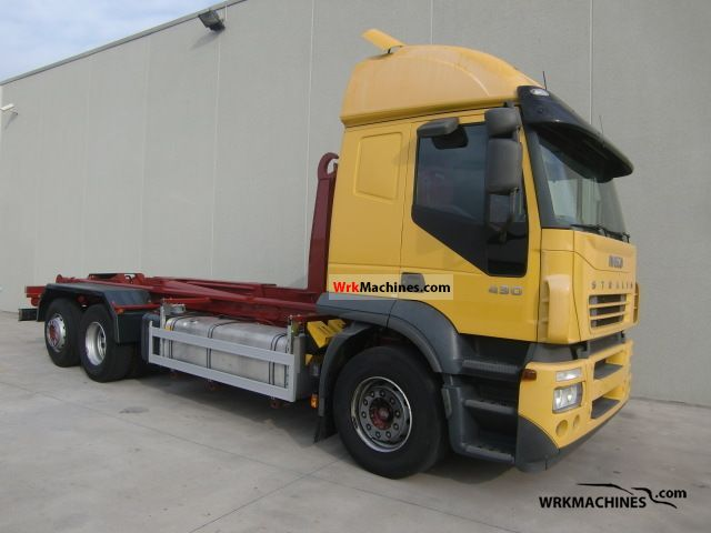 2005 IVECO Stralis AT 260S43 Truck over 7.5t Roll-off tipper photo