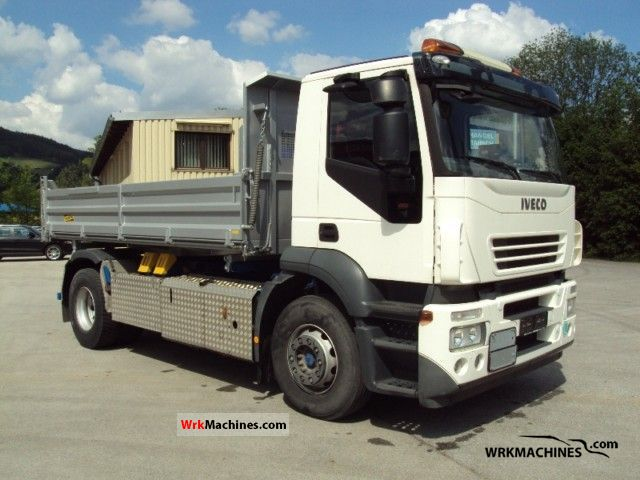 2007 IVECO Stralis 190S45 Truck over 7.5t Tipper photo