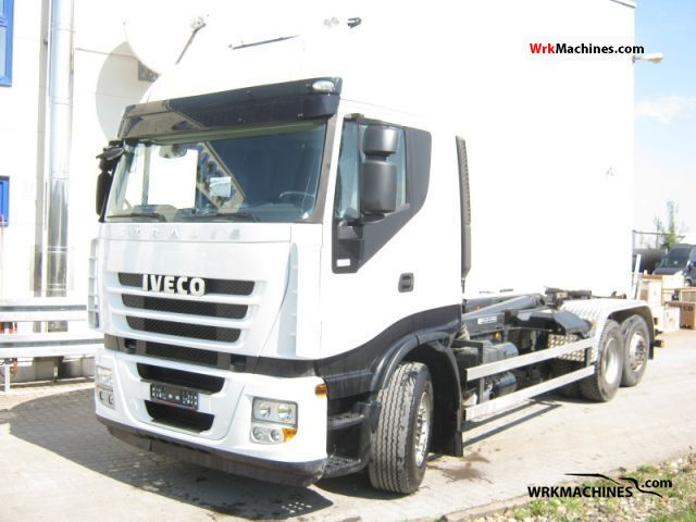 2010 IVECO Stralis 260S42 Truck over 7.5t Roll-off tipper photo