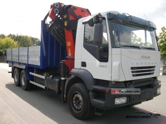 IVECO Trakker 260T35 2007 Truck-mounted crane Photos and Info