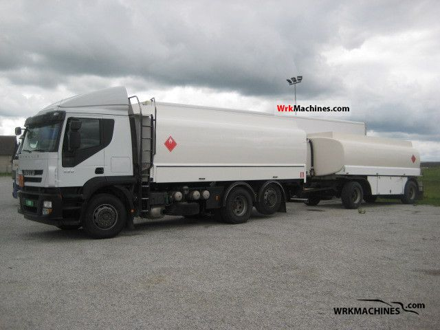 2008 IVECO Stralis 260S45 Truck over 7.5t Tank truck photo