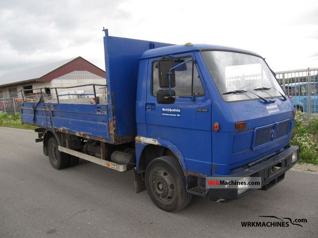 1989 MAN G 90 10.150 Truck over 7.5t Stake body photo