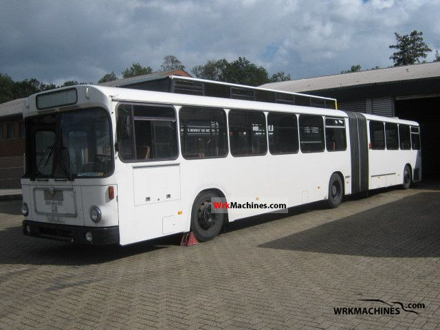 1985 MAN SG SG 240 HÜ Coach Articulated bus photo