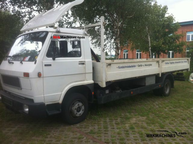 1988 MAN G 90 8.150 Van or truck up to 7.5t Stake body photo