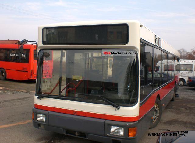 1994 MAN EL 202 Coach Public service vehicle photo