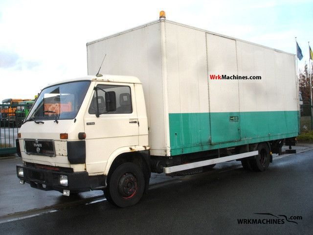 1991 MAN G 90 10.150 F Truck over 7.5t Box photo
