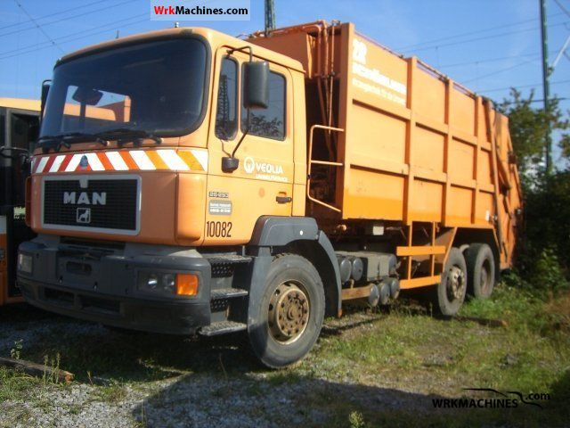 1996 MAN F 2000 26.293 Truck over 7.5t Refuse truck photo