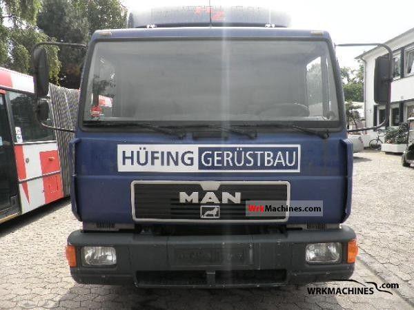 1995 MAN L 2000 10.163 Truck over 7.5t Box photo