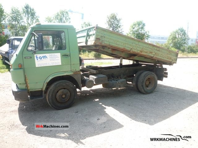1991 MAN G 90 8.150 Van or truck up to 7.5t Tipper photo