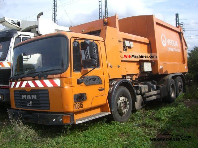 1999 MAN F 2000 26.293 Truck over 7.5t Refuse truck photo