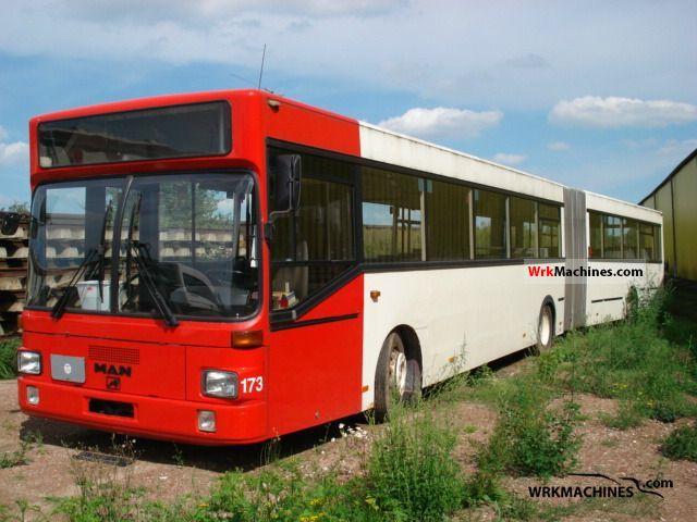 1995 MAN SG SG 322 Coach Articulated bus photo