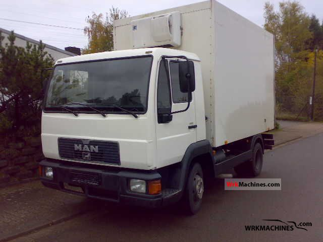 1995 MAN L 2000 8.153 Van or truck up to 7.5t Refrigerator body photo