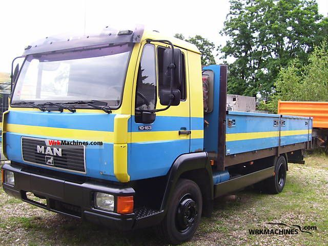 1996 MAN L 2000 10.163 Truck over 7.5t Stake body photo