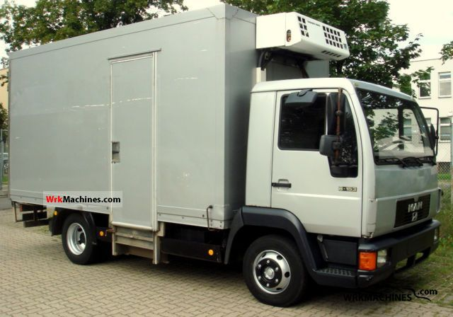 1994 MAN L 2000 8.153 Van or truck up to 7.5t Refrigerator body photo