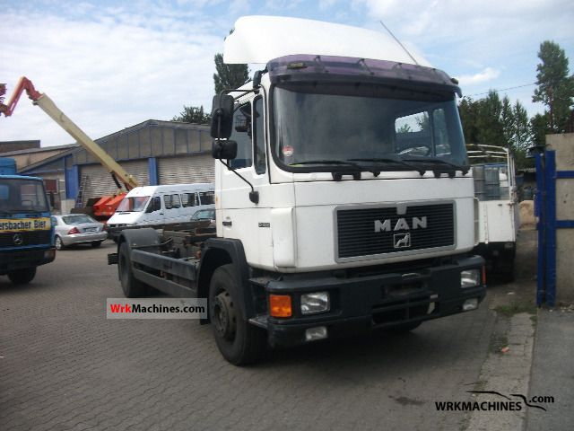 1996 MAN M 90 18.262 Truck over 7.5t Swap chassis photo