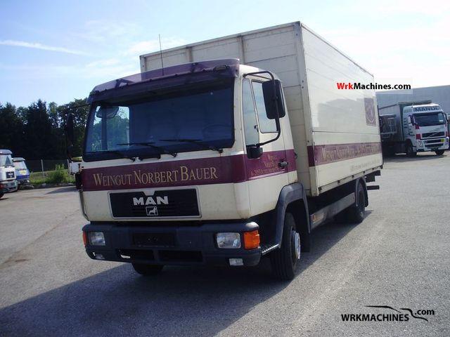 1994 MAN L 2000 10.153 Truck over 7.5t Beverage photo