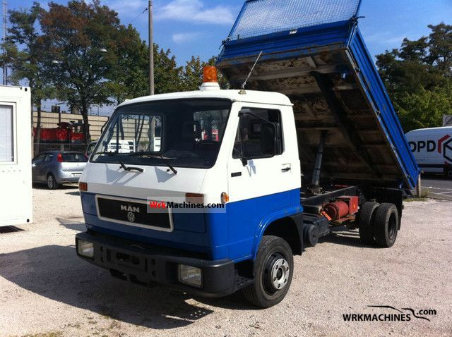 1990 MAN G 90 8.150 Van or truck up to 7.5t Tipper photo